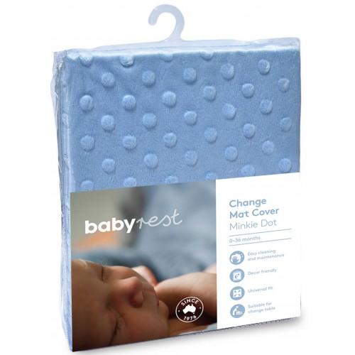 Babyrest Universal Change Mat Cover Blue