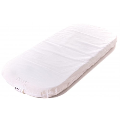 Babyrest 730 x 330 Oval Bassinet Mattress