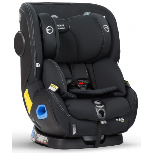 Britax B First Convertible Car Seat Tex Black