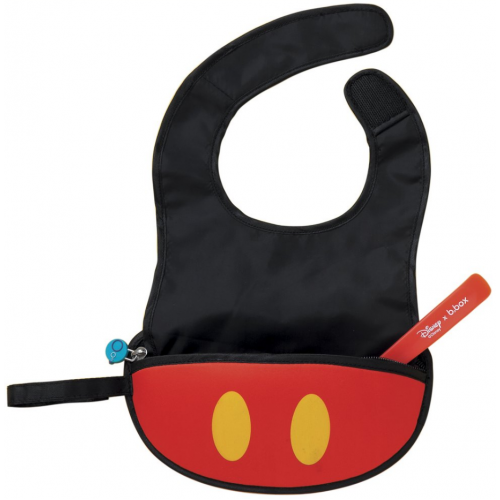 BBox Disney Travel Bib and Spoon Mickey Mouse