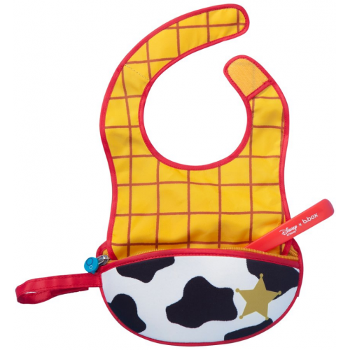 BBox Disney Travel Bib and Spoon Woody