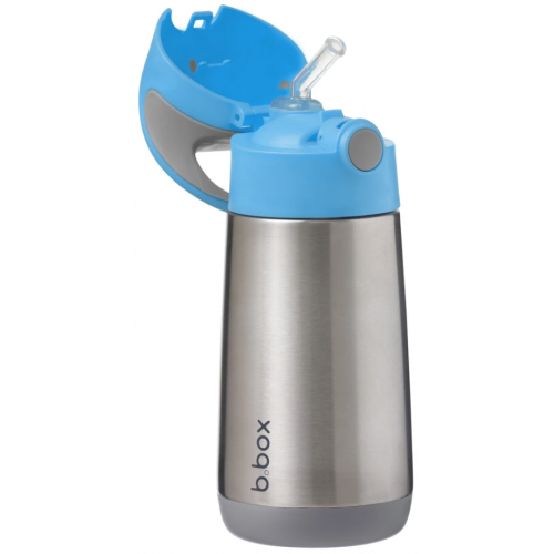 BBox Insulated Drink Bottle Blue Slate