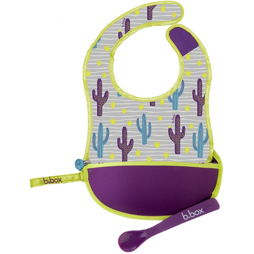 BBox Travel Bib and Spoon Cactus Capers