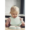 Baby Bjorn Soft Bib 2pk Powder Green Pink