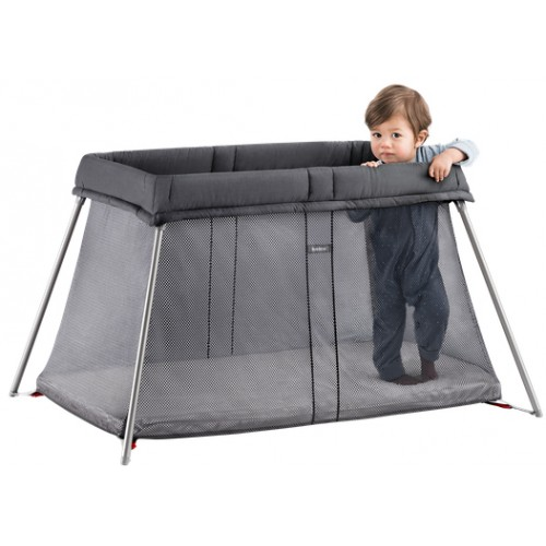 Baby Bjorn Travel Cot Easy Go Anthracite