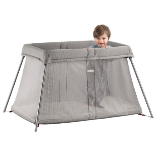 Baby Bjorn Travel Cot Easy Go Greige