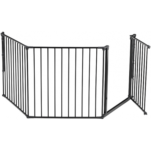 BabyDan Flex System Baby Gate Large Black