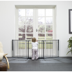 BabyDan Flex System Baby Gate Large Black