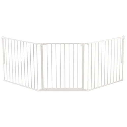 BabyDan Flex System Baby Gate Large White