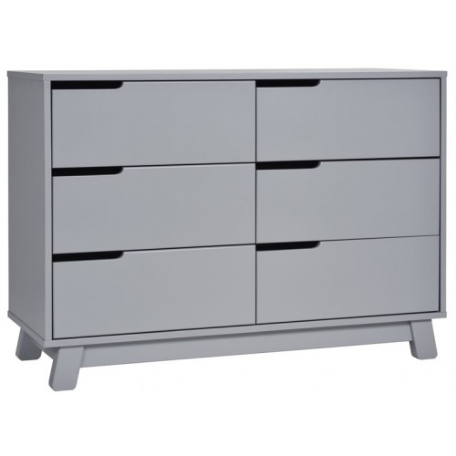 Babyletto Hudson Dresser 6 Drawer Grey