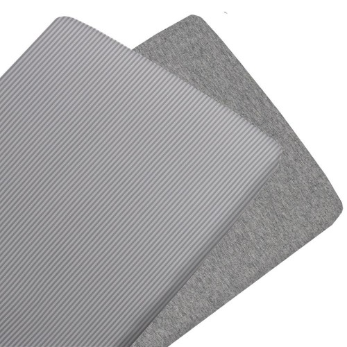Living Textiles Jersey 2pk Cradle Fitted Sheets Grey