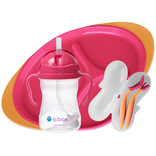Bbox Feeding Set Strawberry Shake