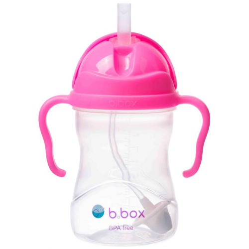 BBox Sippy Cup Pink Pomegranate