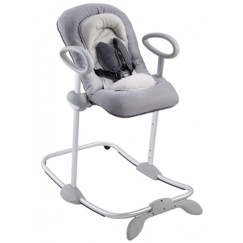 Beaba Up and Down Bouncer Heather Grey