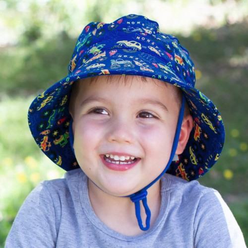 Bedhead Kids Bucket Hat Monster Truck