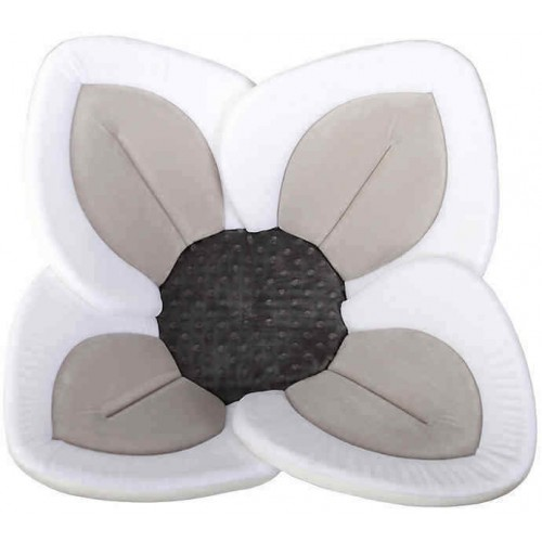 Blooming Lotus Baby Bath Leaf Grey