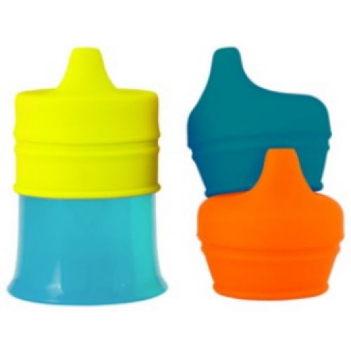 Boon Snug Spout and Cup Orange Multi