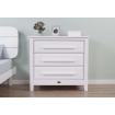 Boori Linear 3 Drawer Chest Barley White