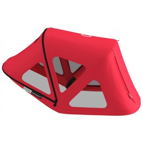 Bugaboo Cameleon/Fox Breezy Sun Canopy Neon Red