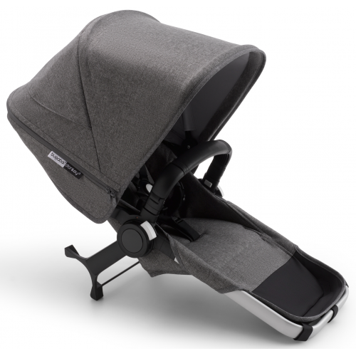 Bugaboo Donkey 3 Duo Extension Aluminium Grey Melange