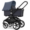 Bugaboo Fox Black Frame Steel Blue Style Set