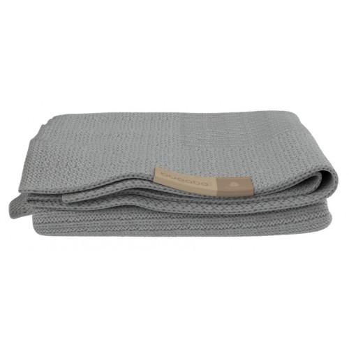 Bugaboo Soft Wool Blanket Light Grey Melange