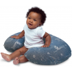 Chicco Boppy Feeding Pillow Denim Animals