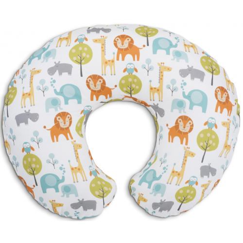 Chicco Boppy Feeding Pillow Peaceful Jungle
