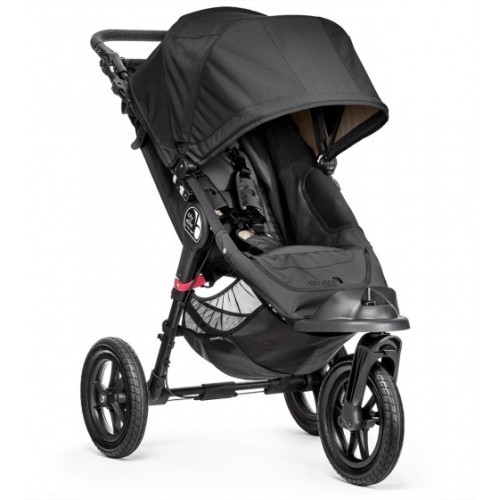 Baby Jogger City Elite 3 Wheel Pram Black