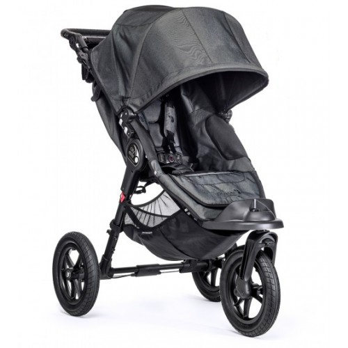 Baby Jogger City Elite 3 Wheel Pram Charcoal