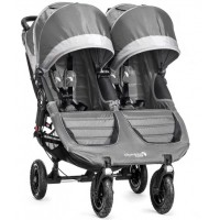 Baby Jogger City Mini GT Double Pram Steel Grey