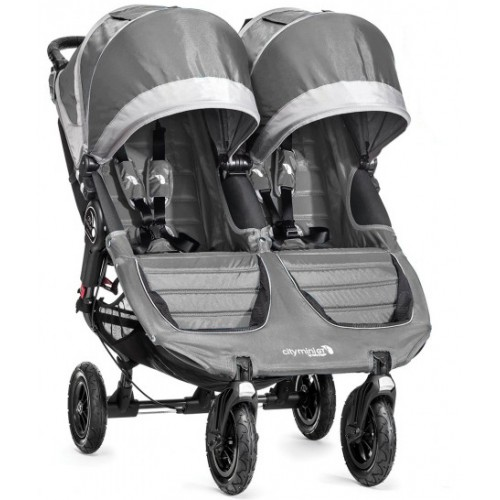 Baby Jogger City Mini GT Double Pram Steel Grey