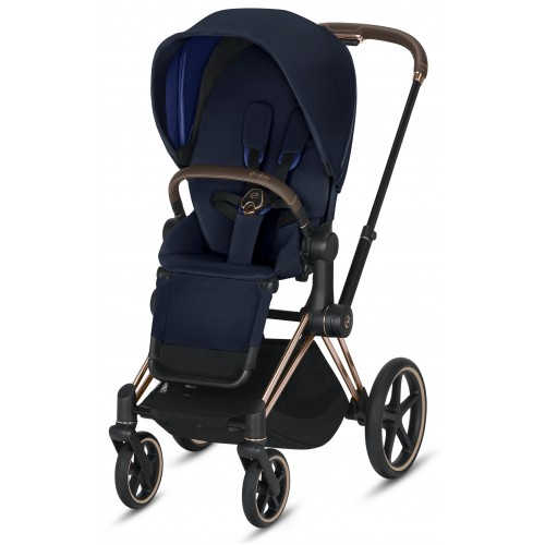 Cybex Priam Pram Rose Gold