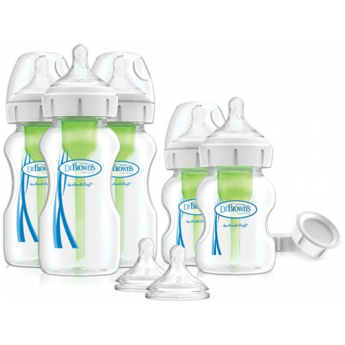 Dr Browns Options Plus Wide Neck Newborn Feeding Set