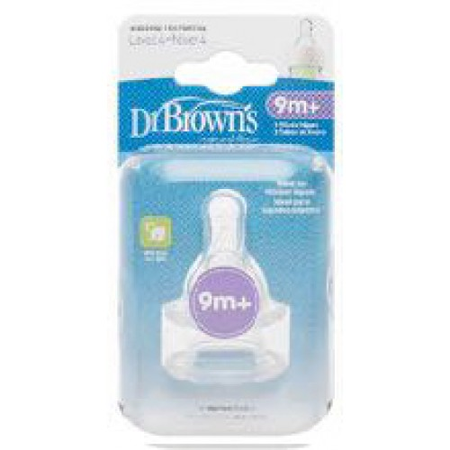 Dr Browns Narrow Bottle Teats Level 4