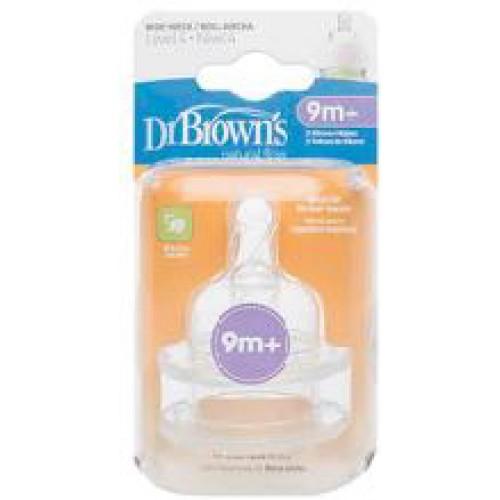Dr Browns Wide Neck Bottle Teats Level 4