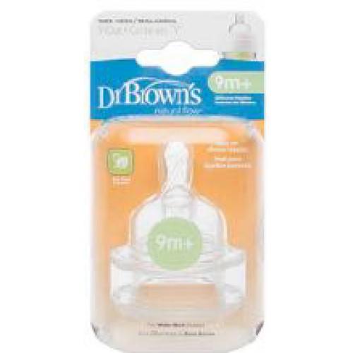 Dr Browns Wide Neck Bottle Teats Y Cut