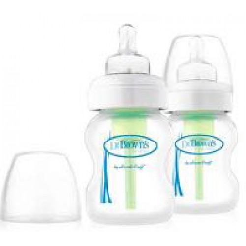 Dr Browns Options Wide Neck Bottle 150ml Twin