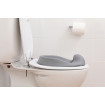 Dreambaby Soft Touch Toilet Seat Grey