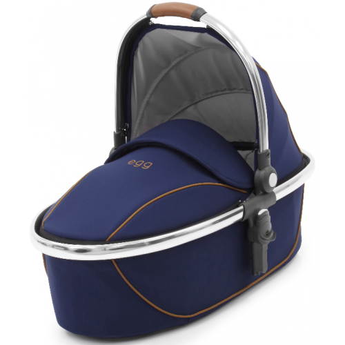 Babystyle Egg Carry Cot Regal Navy Mirror