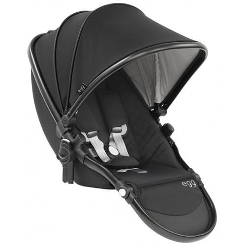 Babystyle Egg Tandem Seat Black