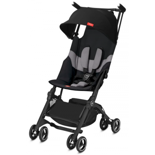 GB Pockit + All Terrain Stroller Velvet Black