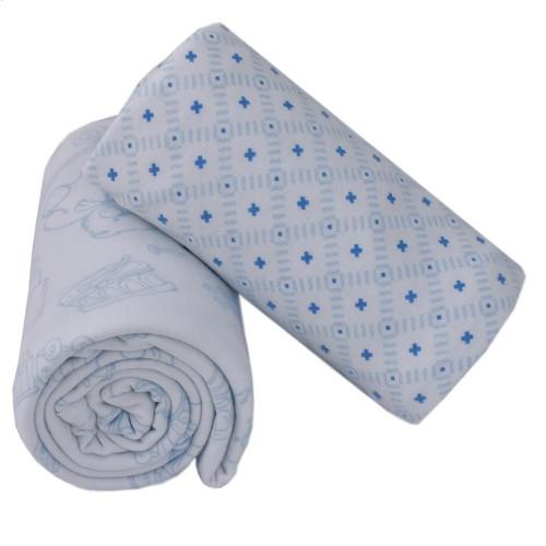 Living Textiles 2pk Jersey Wraps Gio Toy