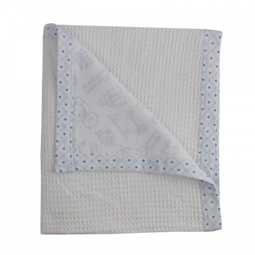 Living Textiles Cot Waffle Blanket Gio Toy