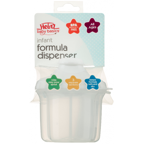 Heinz Baby Basics Infant Formula Dispenser Clear