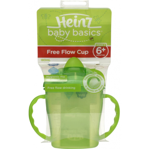 Heinz Baby Basics Free Flow Cup Green