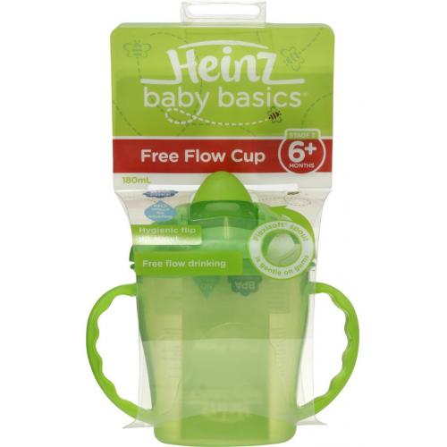 Heinz Baby Basics Free Flow Cup Green