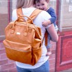Isoki Byron Nappy Backpack Amber