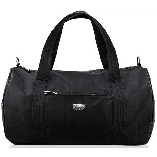 Isoki Kingston Duffle Bag Black Nylon