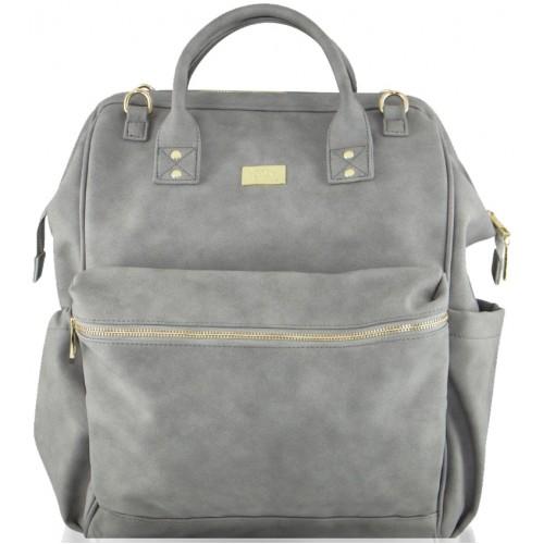 Isoki Byron Nappy Backpack Stone